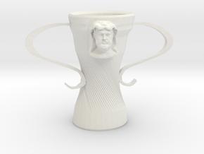 Hercules cup in White Natural Versatile Plastic