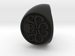 Hydra Ring Size 11.5 in Black Natural Versatile Plastic