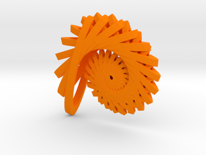 Nautilus 2 in Orange Processed Versatile Plastic