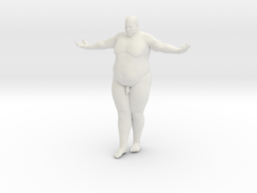 1/20 Fat Man 007 in White Strong & Flexible