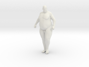 1/20 Fat Man 009 in White Natural Versatile Plastic