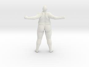 1/20 Fat Man 015 in White Natural Versatile Plastic