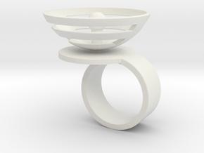 Orbit: US SIZE 5.5 in White Natural Versatile Plastic