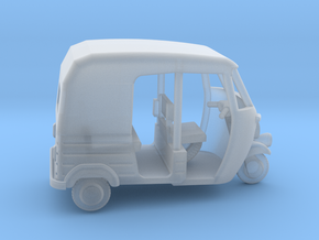Auto Rickshaw / Tuk Tuk, OO-Scale 1:76 in Frosted Ultra Detail