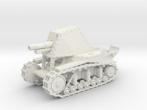 SU-18 (20mm) in White Natural Versatile Plastic
