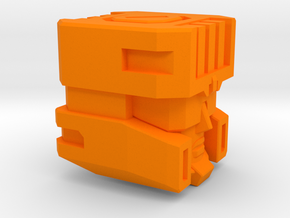 Full Throttle Head G1/IDW for DIY in Orange Processed Versatile Plastic: Small