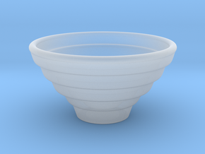 Bowl Hollow Form 2016-0007 various scales in Frosted Ultra Detail: 1:24