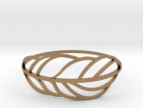 Palm_II in Natural Brass