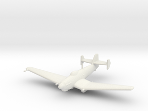 Loire-Nieuport LN.401/411 (without bomb) in White Strong & Flexible: 1:200