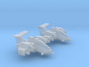 6mm RainHawk Interceptor (2pcs) in Smooth Fine Detail Plastic