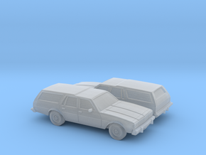 1/160 2X 1977-78 Chevrolet Caprice Station Wagon in Frosted Ultra Detail