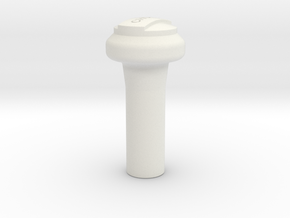 A90 Atlantic CHOKE Knob (8.5 mm hole) in White Natural Versatile Plastic
