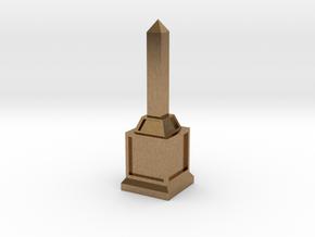 Obelisk of Victory in Natural Brass