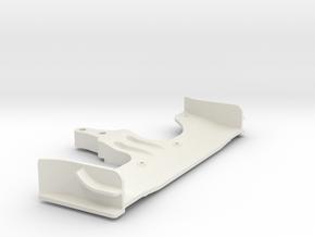 Xray Serpent CRC Yokomo Tamiya front Wing in White Natural Versatile Plastic