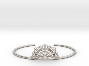Half Lace Cuff - Medium in Platinum