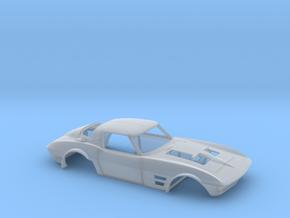 1/64 Corvette Grand Sport 1964 in Smoothest Fine Detail Plastic
