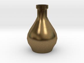 Decorative Design Jar in Natural Bronze
