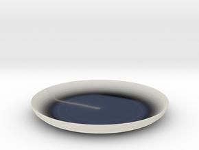 Shibori Maki Plate in Transparent Acrylic