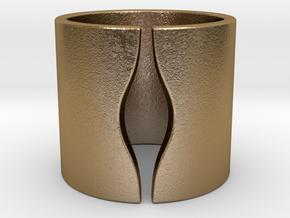ELLE in Polished Gold Steel