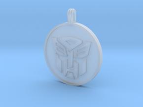 Transformer Pendant in Smooth Fine Detail Plastic