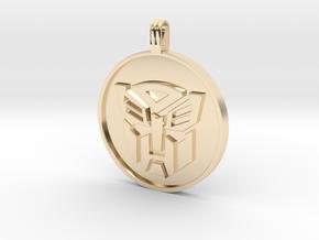 Transformer Pendant in 14K Yellow Gold