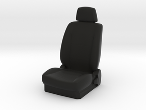1/10 Scale Car Seat in Black Strong & Flexible