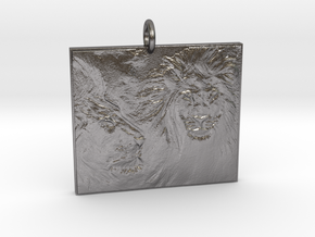 Leo's Majesty in Polished Nickel Steel