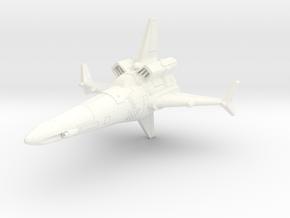 Csrv14 Corsair in White Processed Versatile Plastic