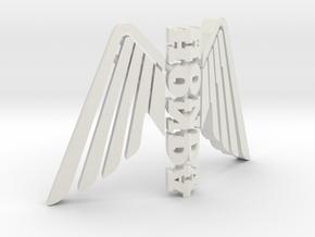 Honda Statuette Logo Sculpture in White Natural Versatile Plastic
