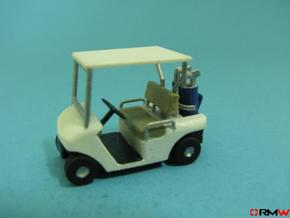 HO/1:87 Golf cart, kit in Smooth Fine Detail Plastic