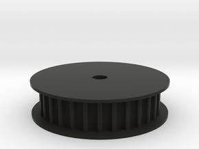 Encoder Pulley 3.0 in Black Natural Versatile Plastic