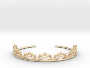 Open Lace Cuff - Medium in 14K Yellow Gold