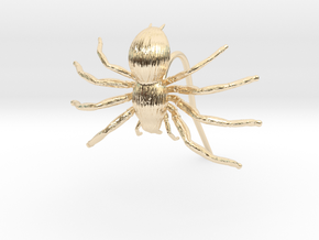 Spider Earring in 14k Gold Plated Brass