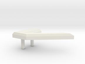 R108.100.CharacterV.ascii in White Natural Versatile Plastic