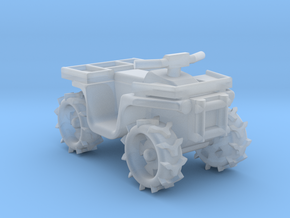 Quad ATV 1-87 HO Scale Style (Aggressive)2.0 in Smooth Fine Detail Plastic