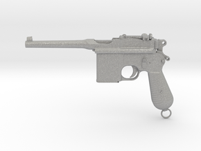 1/4 Scale Broomhandle Mauser in Aluminum
