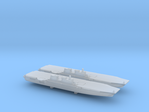JS Izumo x 2, 1/6000 in Smooth Fine Detail Plastic