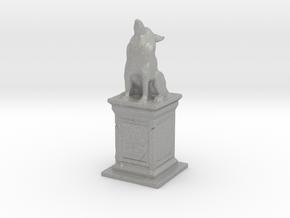 Wolf Statue in Aluminum