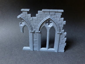 Gothic Arch in Smooth Fine Detail Plastic