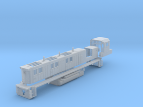 NRE 3GS21B Genset: Angled Fuel Tank (N - 1:160) in Frosted Extreme Detail