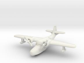 Grumman JRF-5 Goose (In flight) 1/285 6mm in White Natural Versatile Plastic