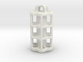 Tritium Lantern 5D (3.5x25mm Vials) in White Natural Versatile Plastic