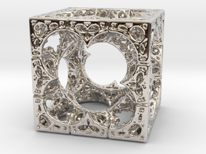 Mystic HyperMenger 2 in Rhodium Plated Brass