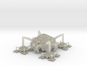 Fractal Spider in Transparent Acrylic