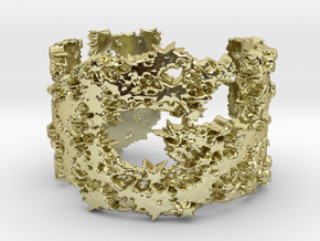 My uge ring design in 18k Gold Plated Brass