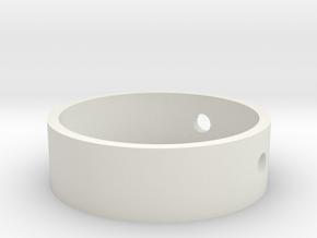 Drill Ring 1.4 in White Natural Versatile Plastic