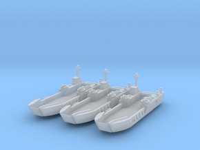 1/700 LCT-6 x 3 Off in Smooth Fine Detail Plastic