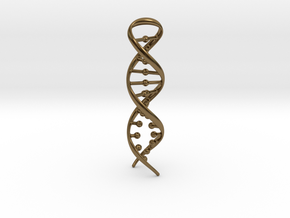 DNA RECONNECTION in Polished Bronze
