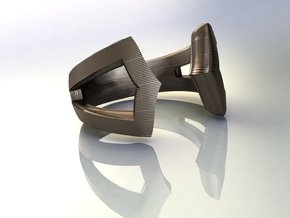 True Focus Ring in Polished Bronze Steel
