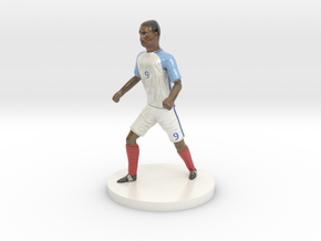 English Football Player in Coated Full Color Sandstone